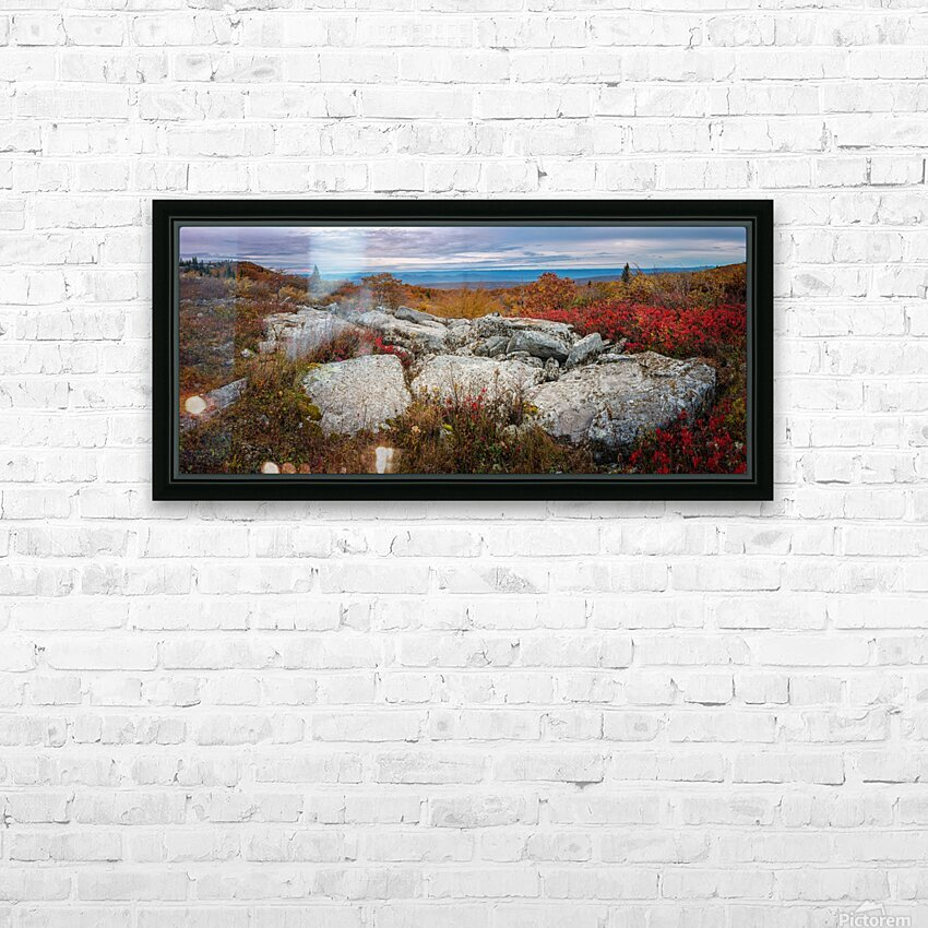 The Colors of Nature apmi 1781 HD Sublimation Metal print with Decorating Float Frame (BOX)