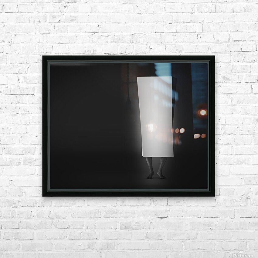 Life In A Box 4 HD Sublimation Metal print with Decorating Float Frame (BOX)