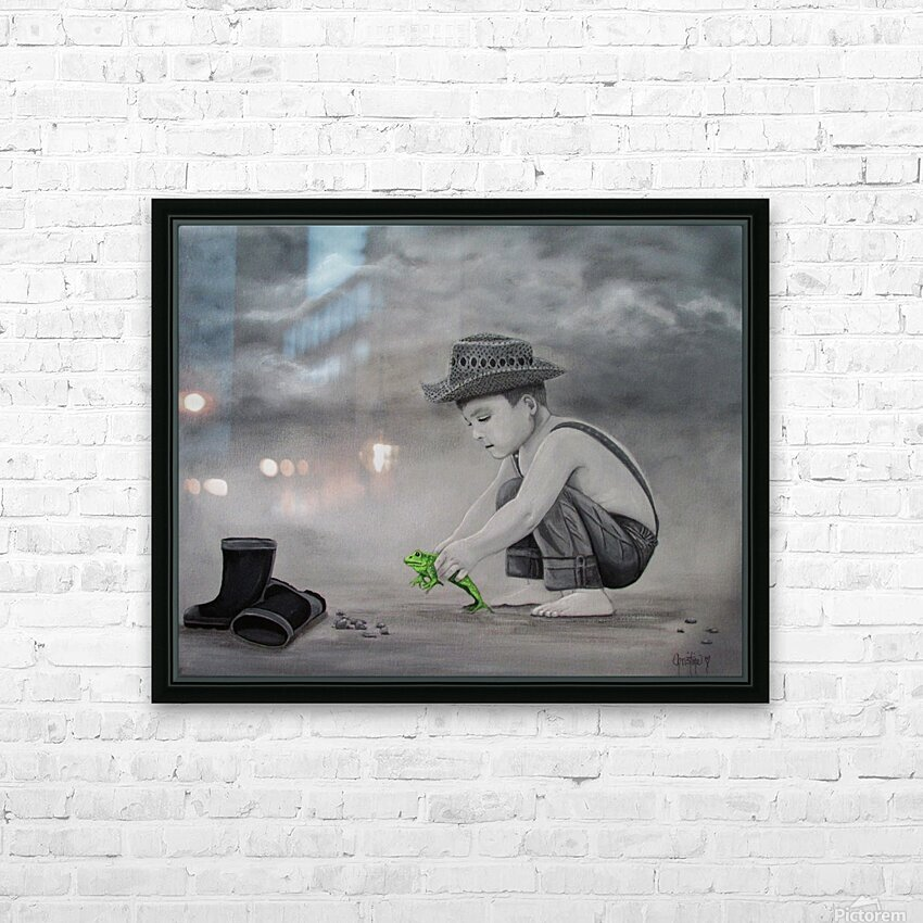 Little Prince HD Sublimation Metal print with Decorating Float Frame (BOX)