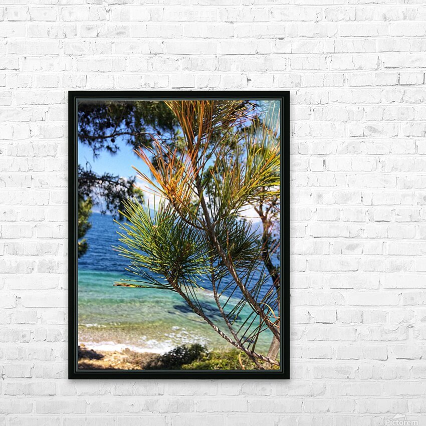 Greece Peloponnese HD Sublimation Metal print with Decorating Float Frame (BOX)