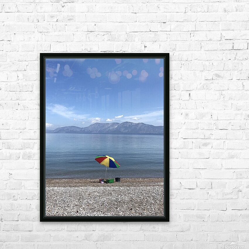 Greece the view of Evia HD Sublimation Metal print with Decorating Float Frame (BOX)