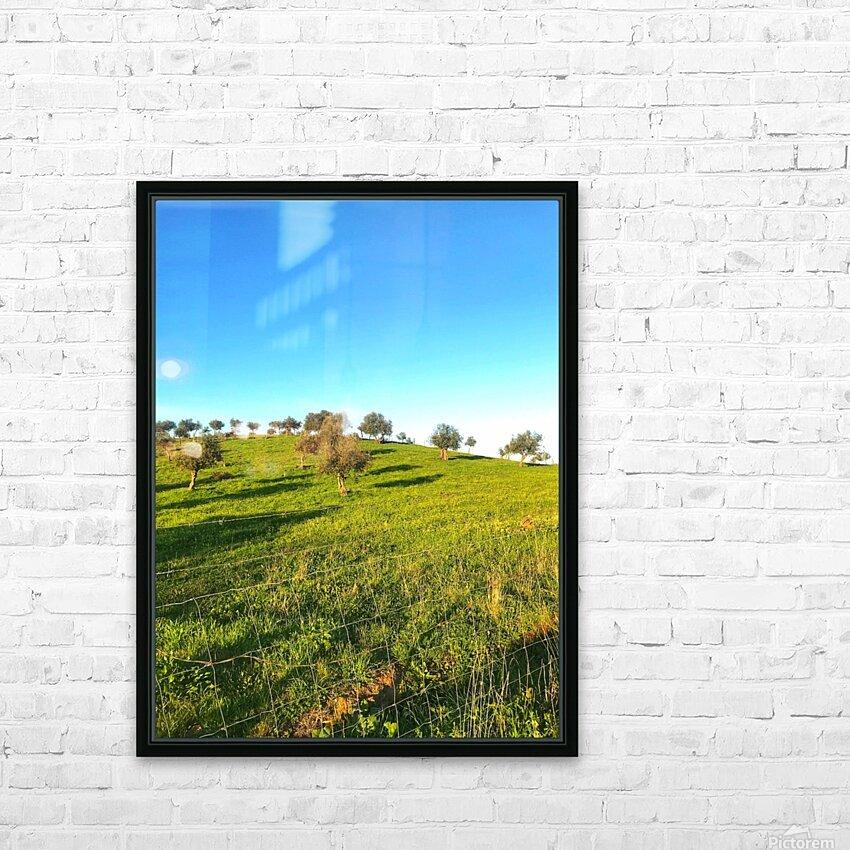 Landscape of central Portuga HD Sublimation Metal print with Decorating Float Frame (BOX)