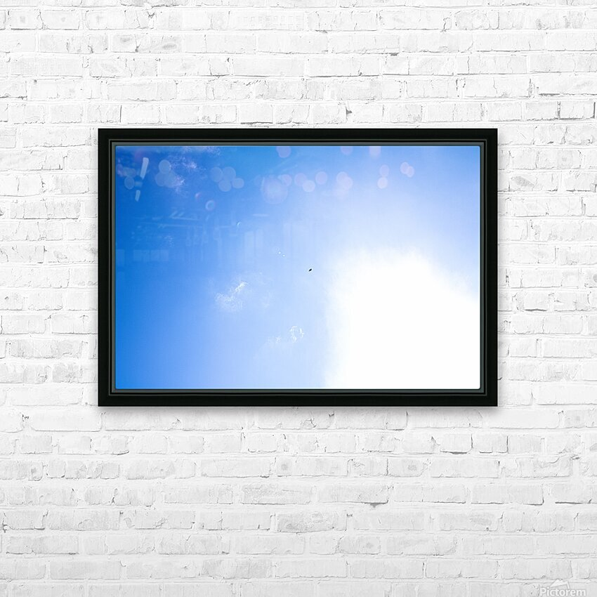 Into the Sun HD Sublimation Metal print with Decorating Float Frame (BOX)