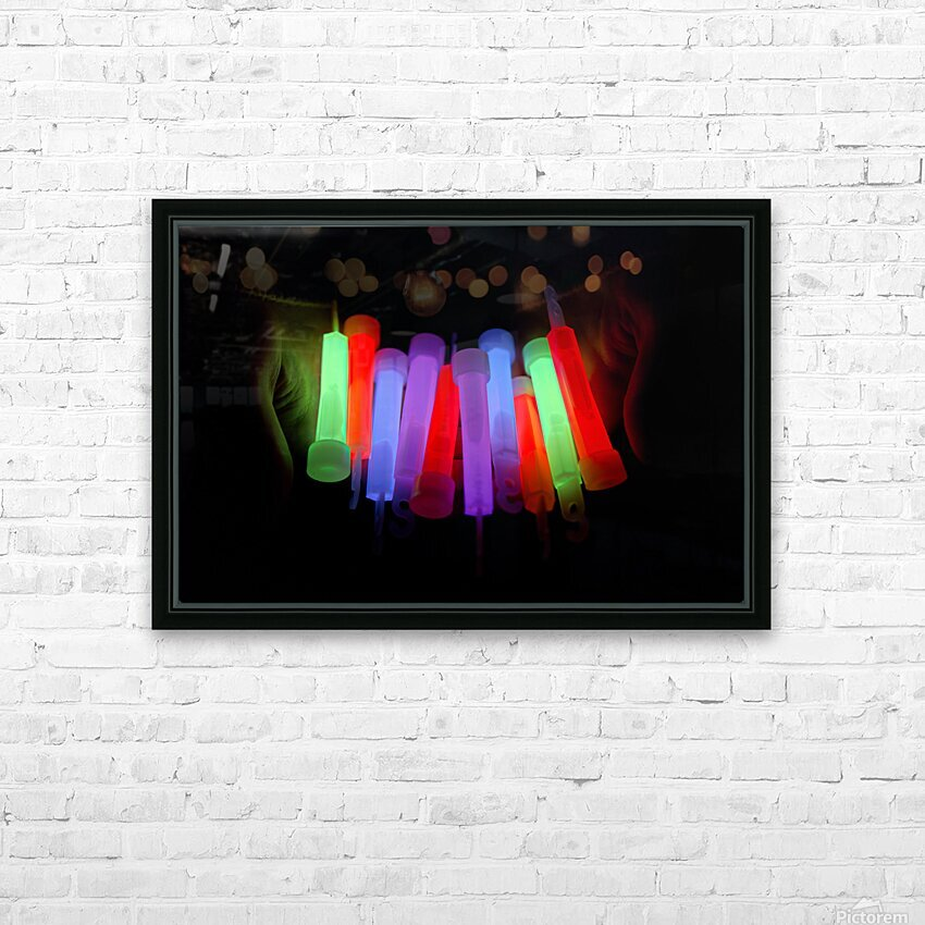 Lightstick HD Sublimation Metal print with Decorating Float Frame (BOX)