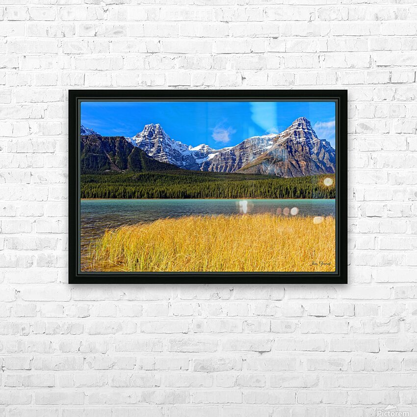 Banff National Park Alberta Canada HD Sublimation Metal print with Decorating Float Frame (BOX)