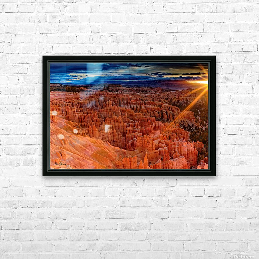 Bryce Canyon National Park Utah HD Sublimation Metal print with Decorating Float Frame (BOX)