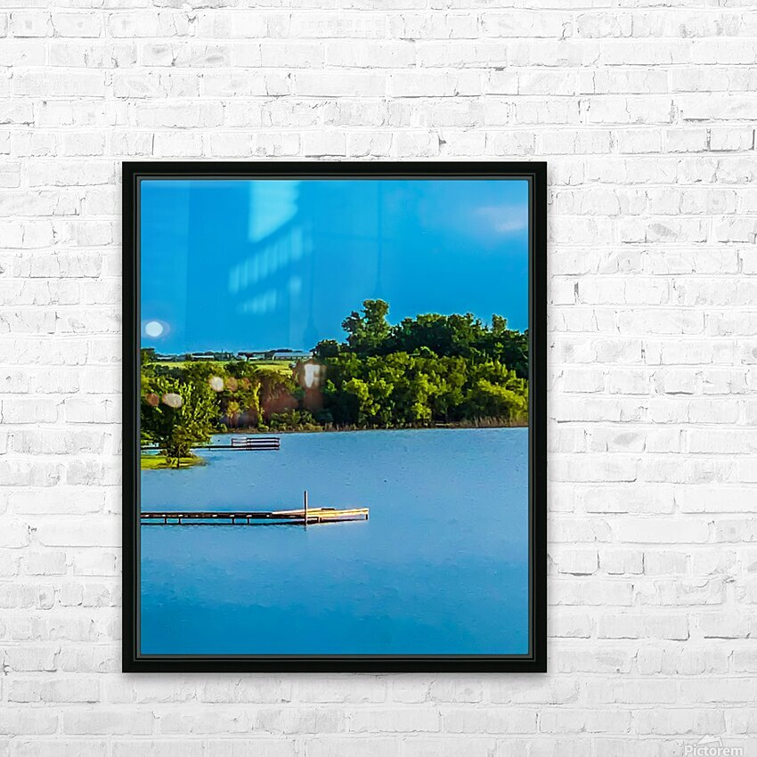 Carries Paradise HD Sublimation Metal print with Decorating Float Frame (BOX)