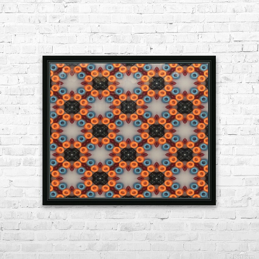beadwork HD Sublimation Metal print with Decorating Float Frame (BOX)