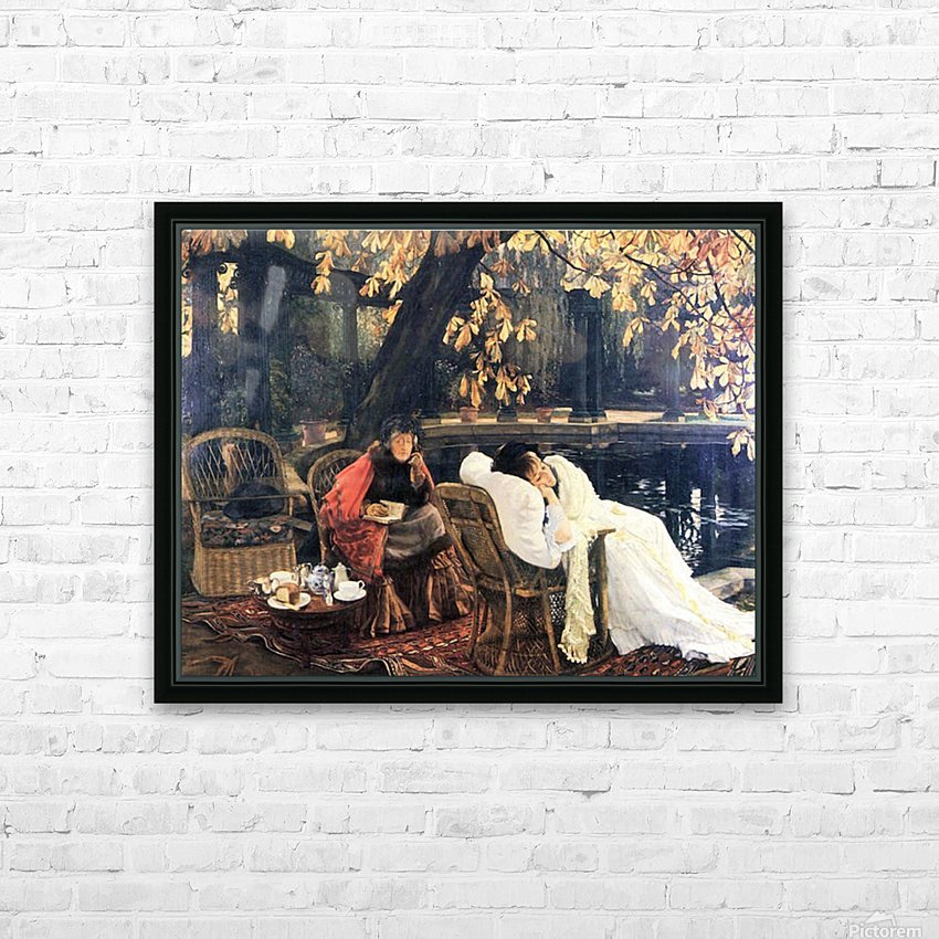 The end by Tissot HD Sublimation Metal print with Decorating Float Frame (BOX)