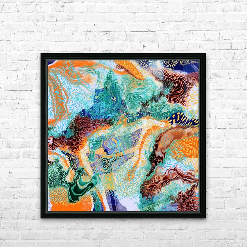 popartfantasy HD Sublimation Metal print with Decorating Float Frame (BOX)
