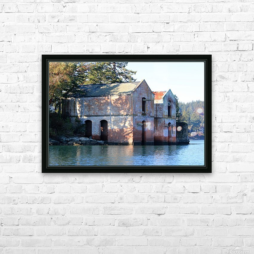 Cole Island (Victoria, BC) HD Sublimation Metal print with Decorating Float Frame (BOX)