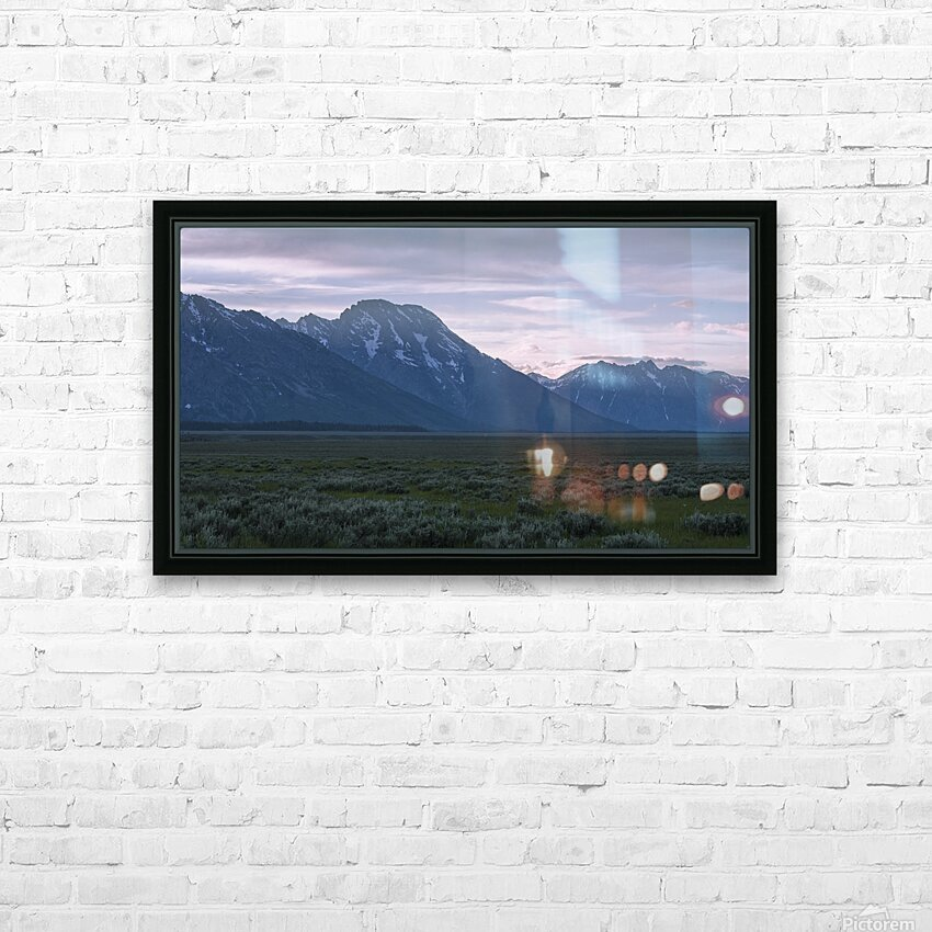 Grand Teton National Park HD Sublimation Metal print with Decorating Float Frame (BOX)