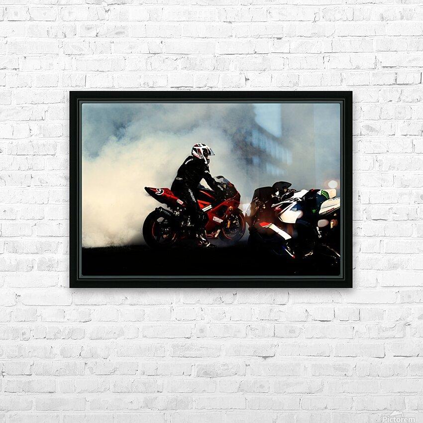 Holy smoke HD sublimation métal imprimé avec décoration flotteur cadre (boîte)
