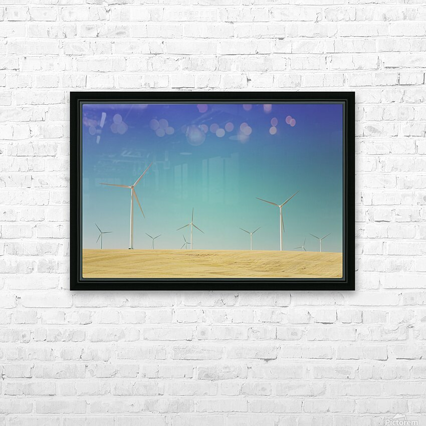 Wondering With The Wind HD Sublimation Metal print with Decorating Float Frame (BOX)