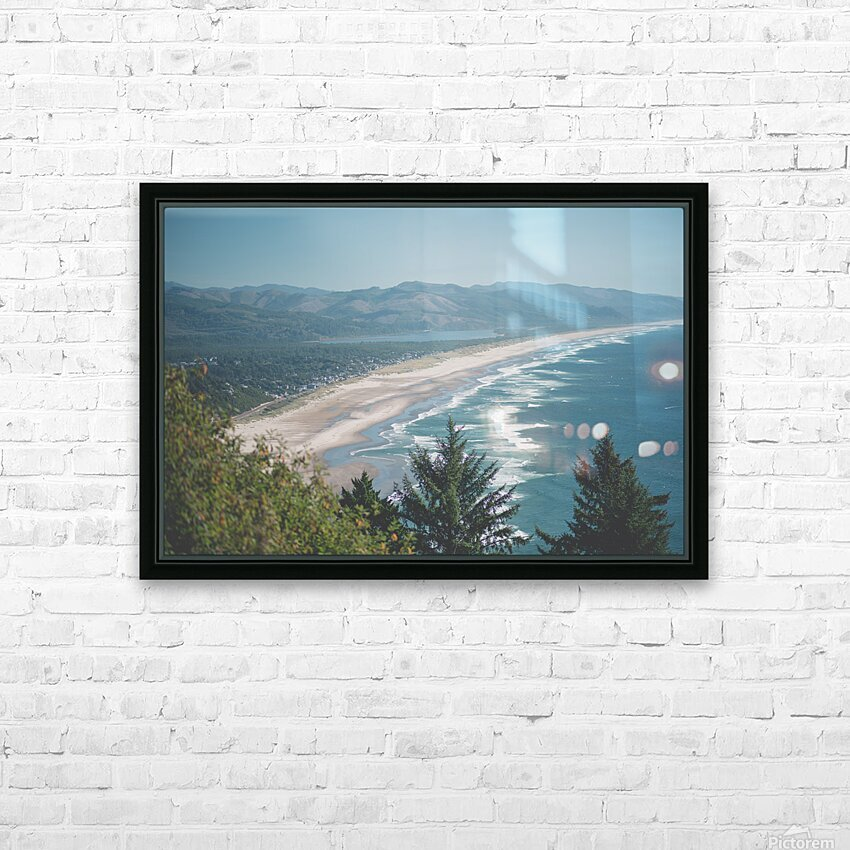 Neahkahnie Beach HD Sublimation Metal print with Decorating Float Frame (BOX)