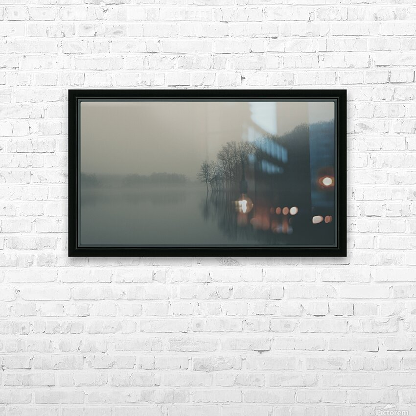 Fog and Peace HD Sublimation Metal print with Decorating Float Frame (BOX)