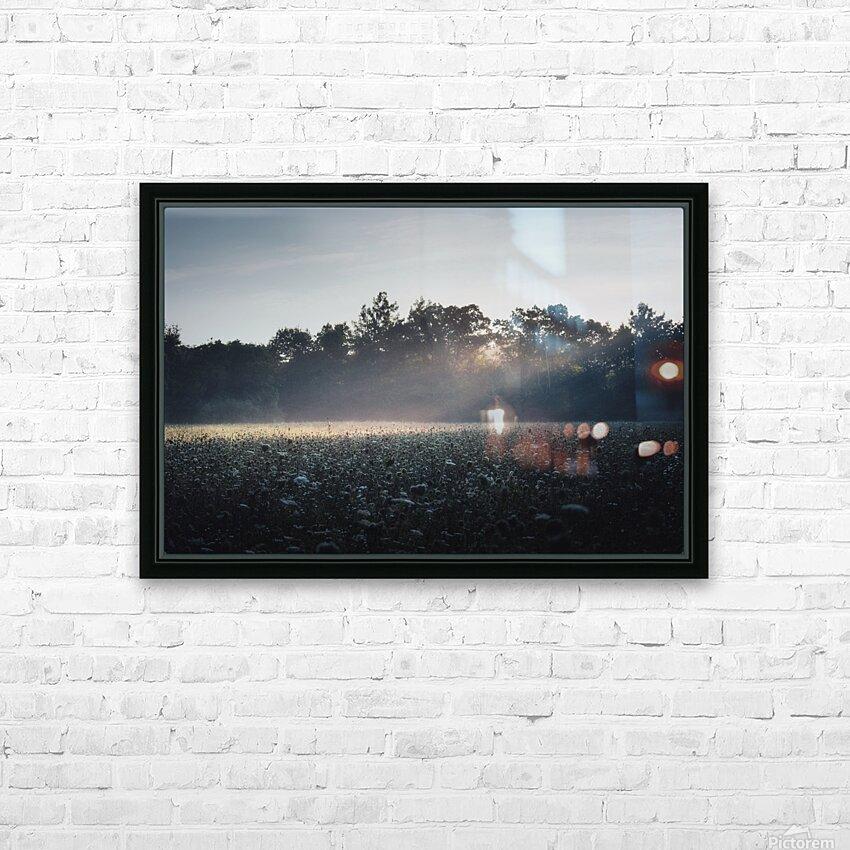 Pennsylvania Sunrise HD Sublimation Metal print with Decorating Float Frame (BOX)