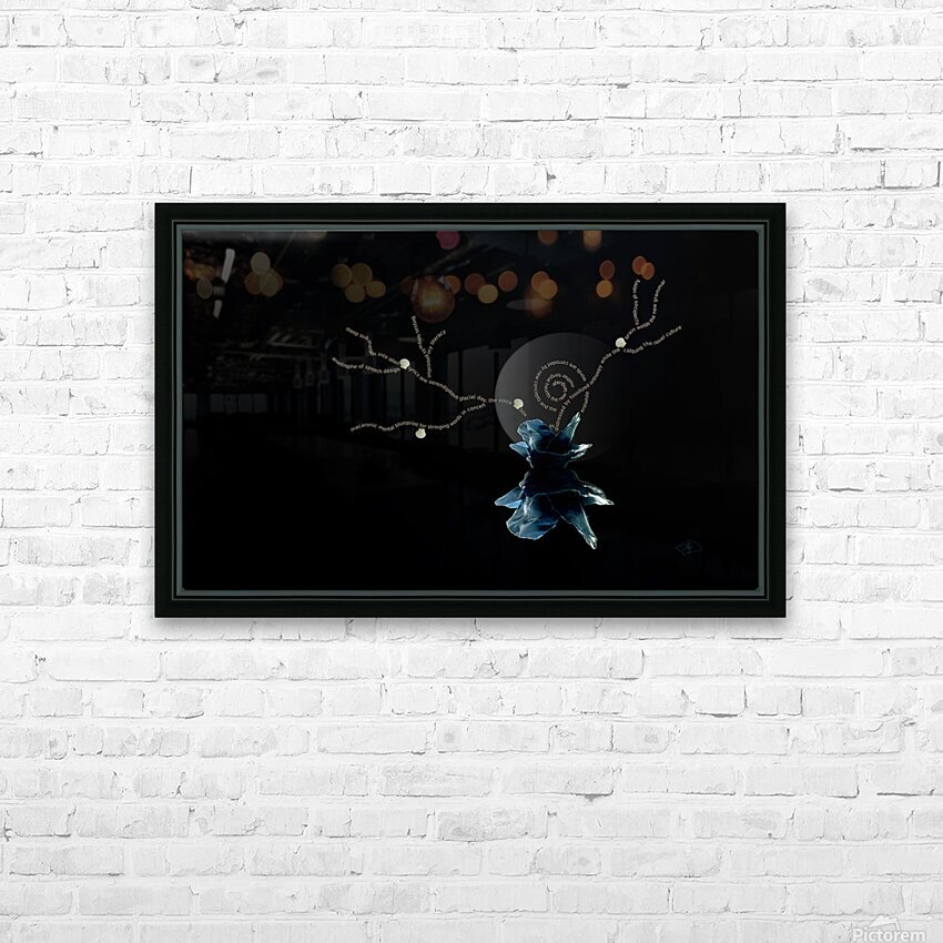 Immersion HD Sublimation Metal print with Decorating Float Frame (BOX)