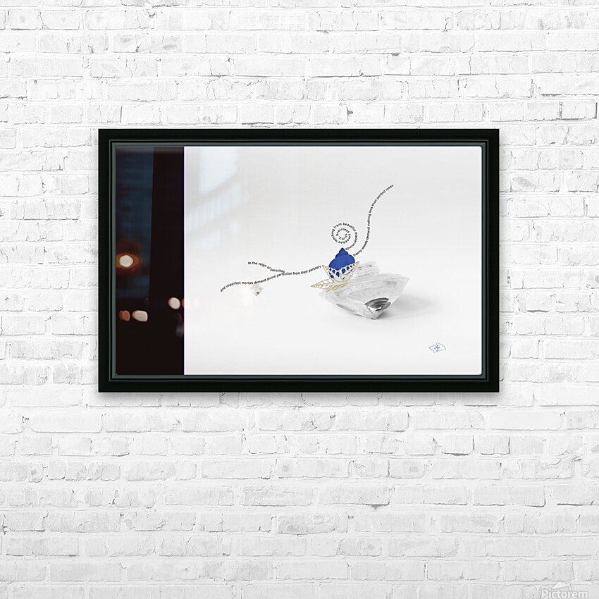 In the reign of parasites HD Sublimation Metal print with Decorating Float Frame (BOX)