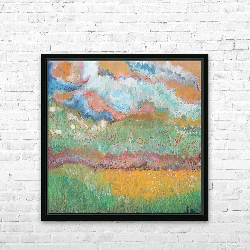 Colors in Nature HD Sublimation Metal print with Decorating Float Frame (BOX)