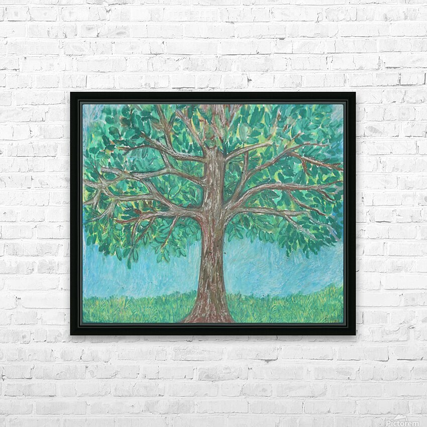 treewalk HD Sublimation Metal print with Decorating Float Frame (BOX)