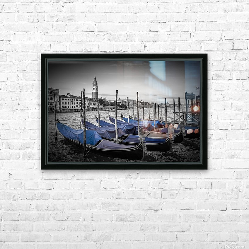 VENICE Grand Canal and St Mark's Campanile HD Sublimation Metal print with Decorating Float Frame (BOX)