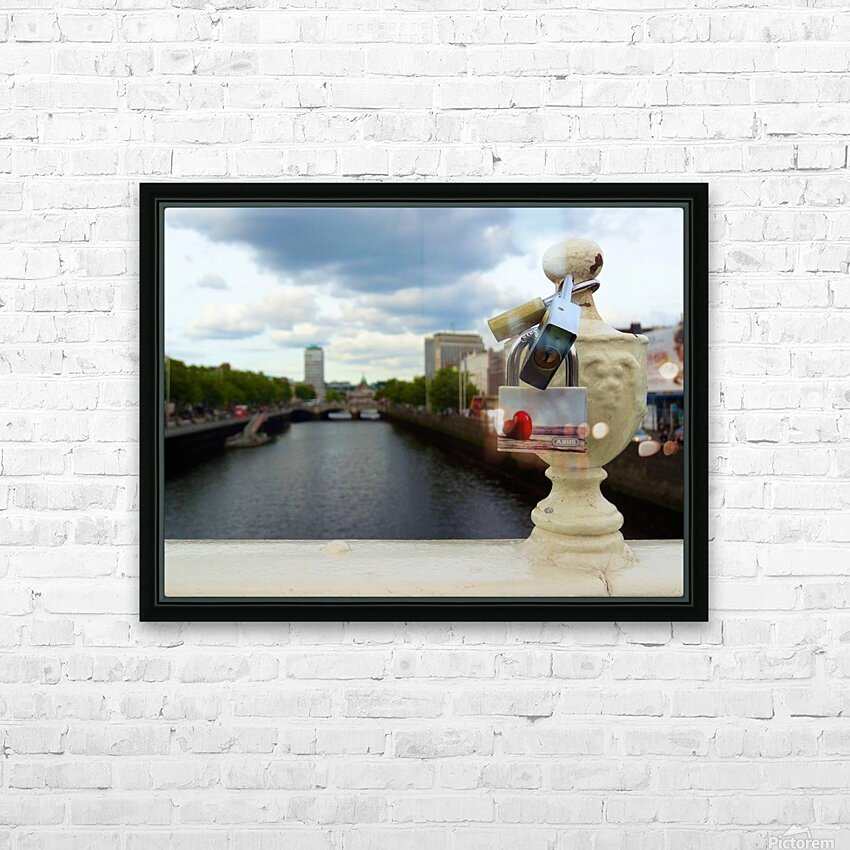 Love Dublin  HD Sublimation Metal print with Decorating Float Frame (BOX)