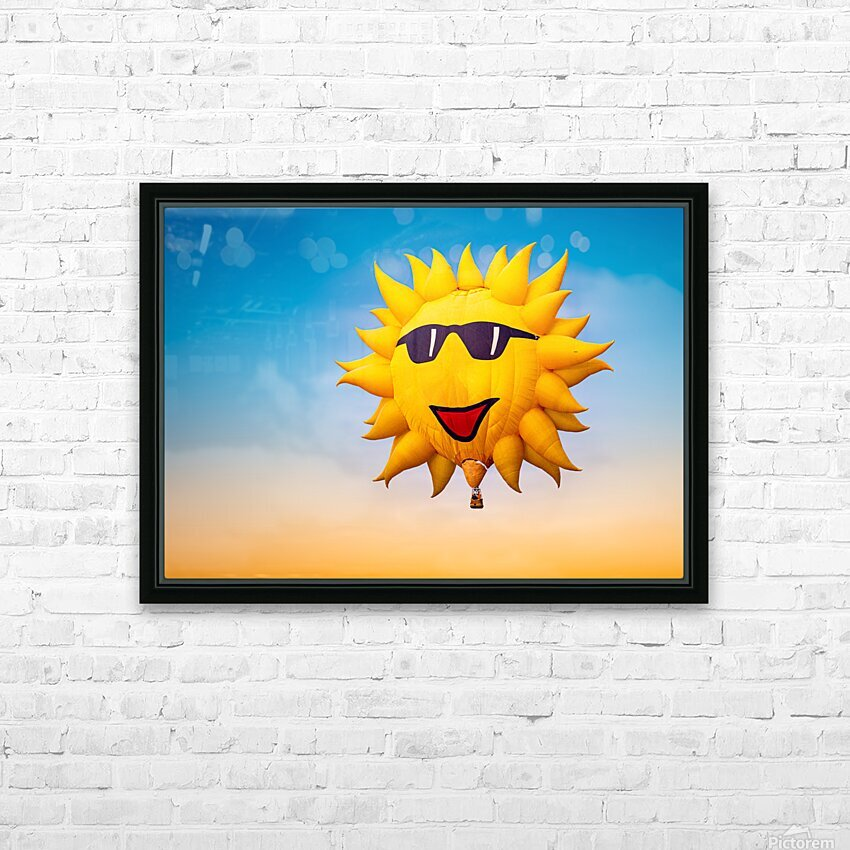 Forecast Clear and Sunny HD Sublimation Metal print with Decorating Float Frame (BOX)