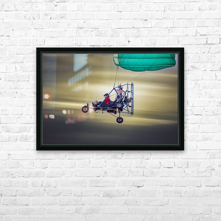 Just Passing Through HD Sublimation Metal print with Decorating Float Frame (BOX)