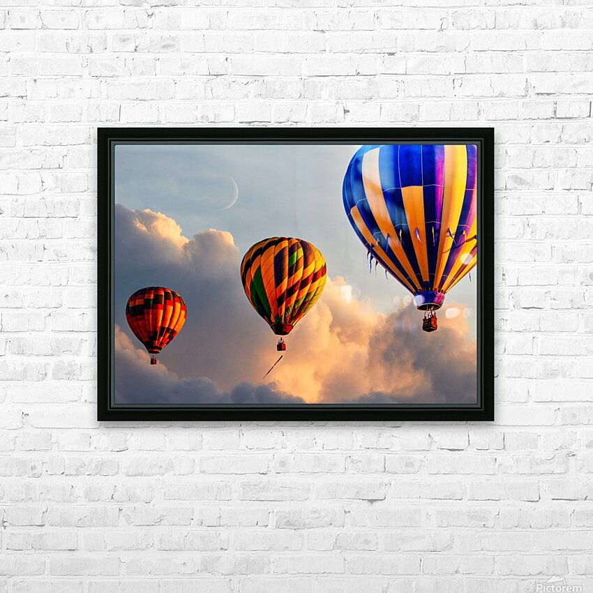 Sunrise Alignment HD Sublimation Metal print with Decorating Float Frame (BOX)