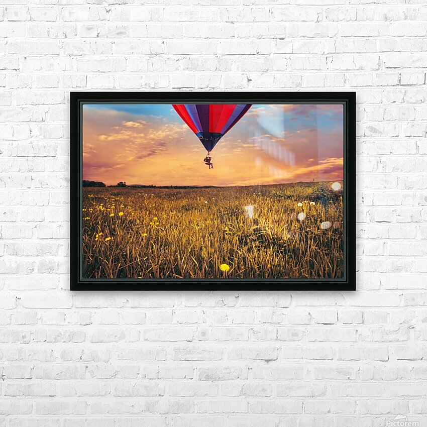 The Aeronaut HD Sublimation Metal print with Decorating Float Frame (BOX)