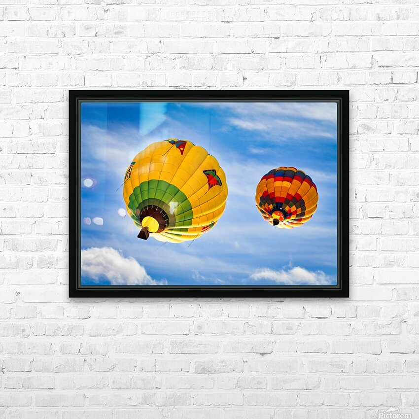Going Up HD Sublimation Metal print with Decorating Float Frame (BOX)