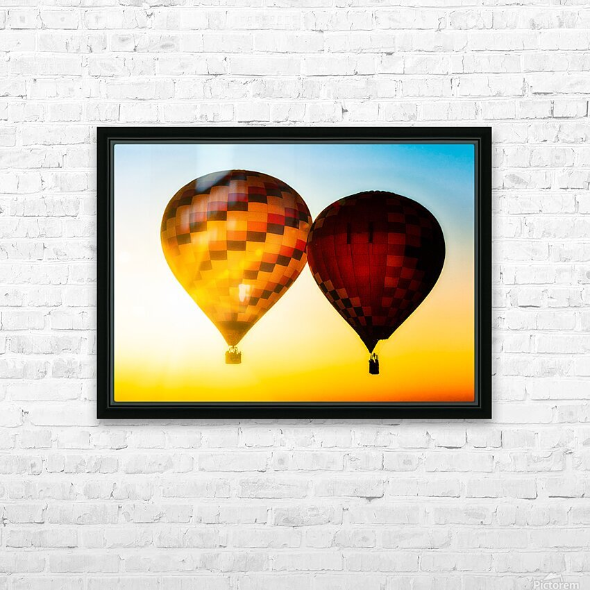 Look Into The Sun HD Sublimation Metal print with Decorating Float Frame (BOX)