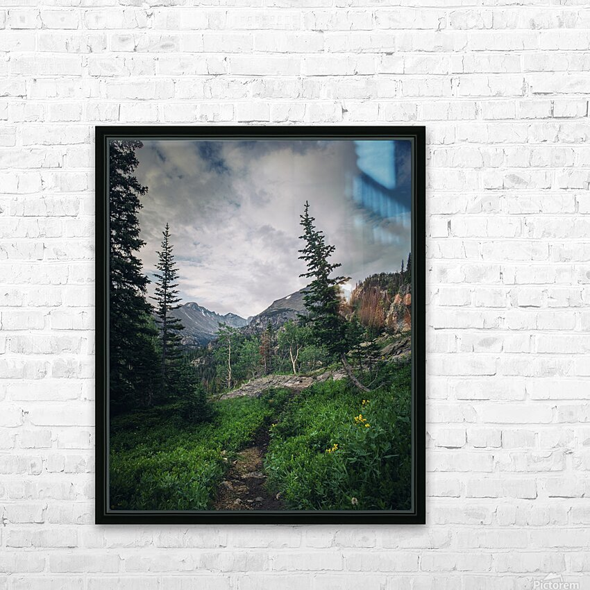 Rocky Mountain National Park HD Sublimation Metal print with Decorating Float Frame (BOX)