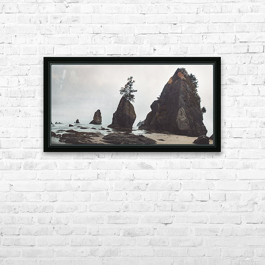 Shi Shi Beach HD Sublimation Metal print with Decorating Float Frame (BOX)