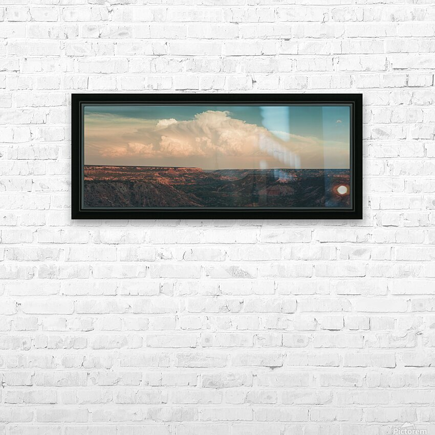 Palo Duro Canyon HD Sublimation Metal print with Decorating Float Frame (BOX)