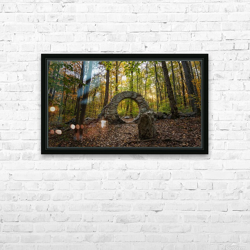 Celtic Eye HD Sublimation Metal print with Decorating Float Frame (BOX)