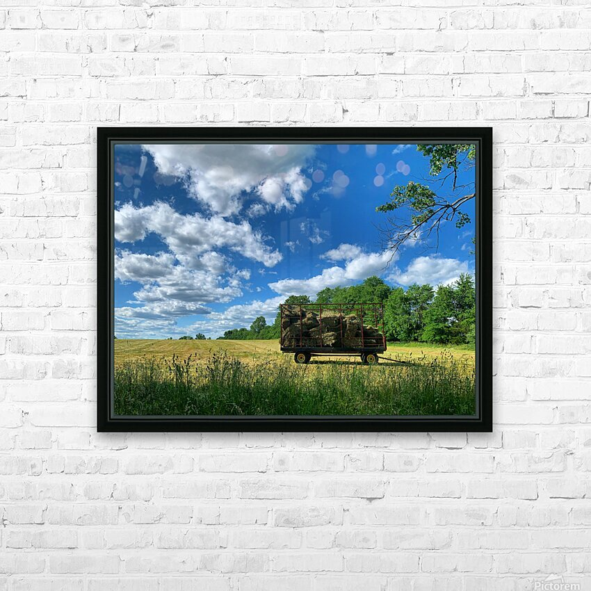 Farm Life  HD Sublimation Metal print with Decorating Float Frame (BOX)