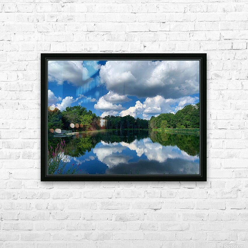 Reflections HD Sublimation Metal print with Decorating Float Frame (BOX)