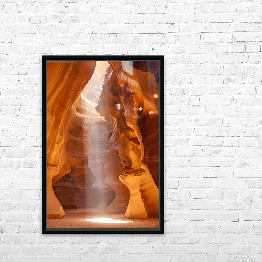 Beautiful Antelope Canyon HD Sublimation Metal print with Decorating Float Frame (BOX)