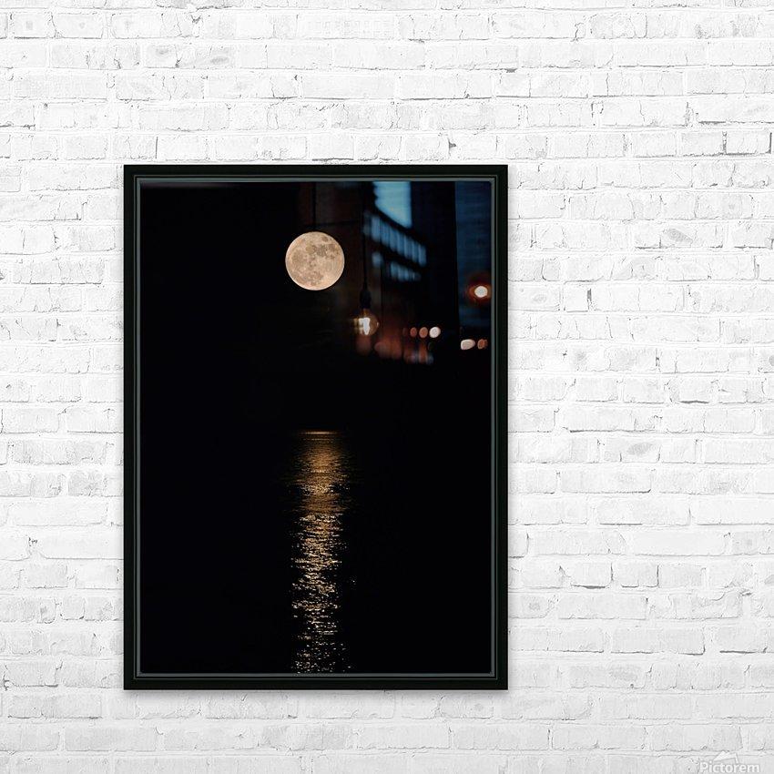 Holiday Magic - Lunar Art by Jordan Blackstone HD Sublimation Metal print with Decorating Float Frame (BOX)