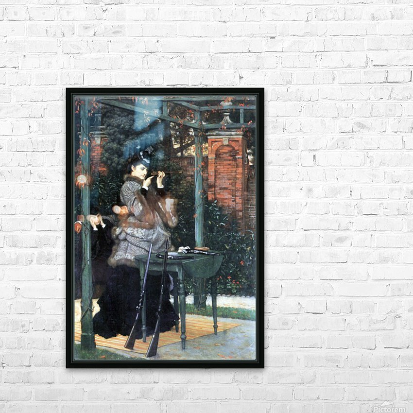 The shooting range by Tissot HD Sublimation Metal print with Decorating Float Frame (BOX)