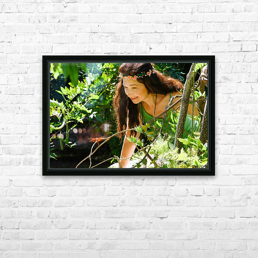 THE TINY MESSENGER collection 2-4 HD Sublimation Metal print with Decorating Float Frame (BOX)
