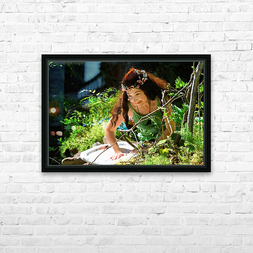THE TINY MESSENGER  collection 3-4 HD Sublimation Metal print with Decorating Float Frame (BOX)