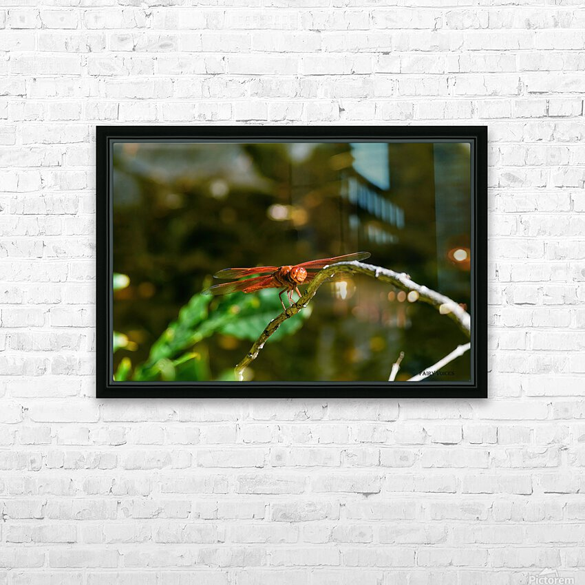 HEAR OUR VOICE collection 3-4 HD Sublimation Metal print with Decorating Float Frame (BOX)