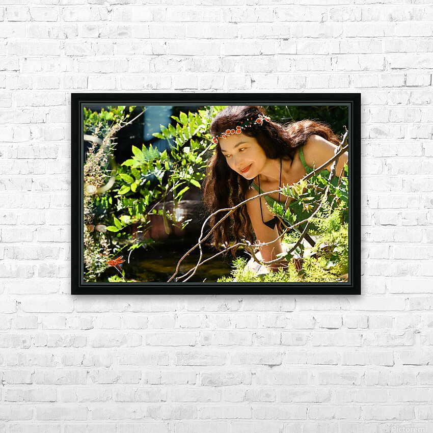 THE TINY MESSENGER collection 1-4 HD Sublimation Metal print with Decorating Float Frame (BOX)