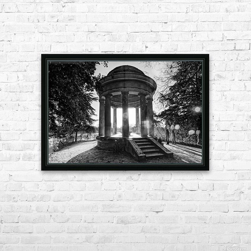 Temple of Love HD sublimation métal imprimé avec décoration flotteur cadre (boîte)