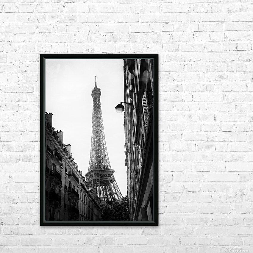 Under the Eiffel tower  HD sublimation métal imprimé avec décoration flotteur cadre (boîte)