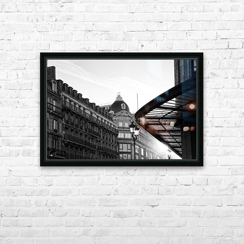 Rivoli street HD sublimation métal imprimé avec décoration flotteur cadre (boîte)