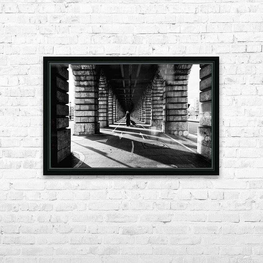 Bercy bridge HD sublimation métal imprimé avec décoration flotteur cadre (boîte)